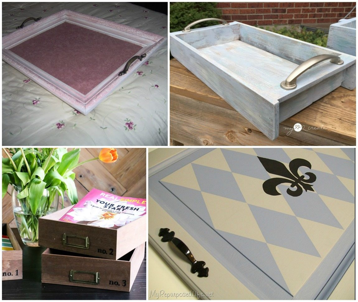 Repurposed Tray Ideas