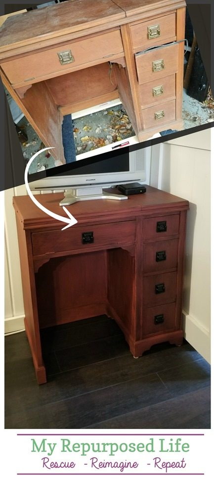 gallery ways sewing vanity vintage in diy to a decor view revamp table desk
