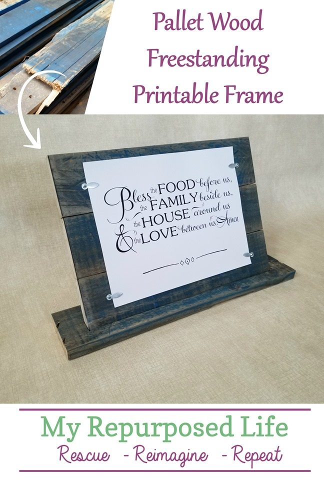 Printable Pallet Frame My Repurposed Life