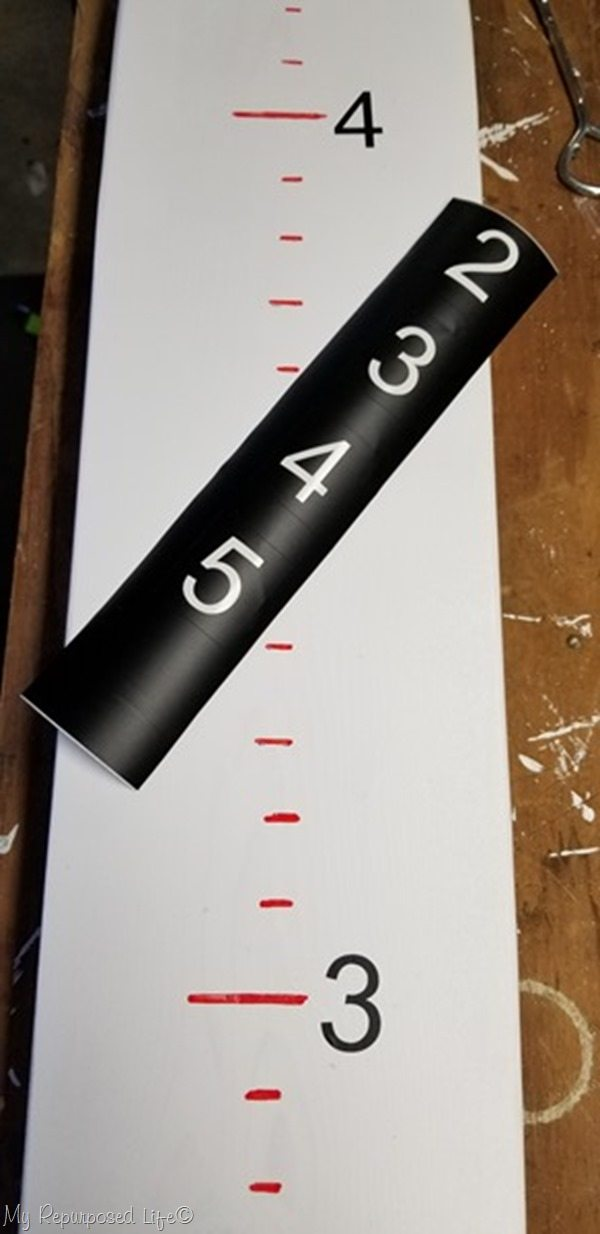 silhouette vinyl numbers baseball bat grow chart
