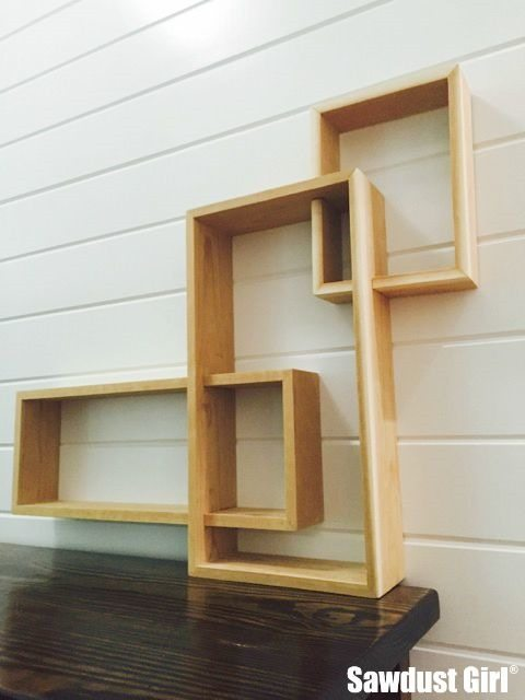 three tiered shelf