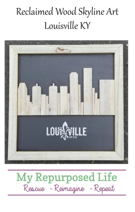 Reclaimed wood skyline artwork louisville kentucky my repurposed network error solutioingenieria Choice Image