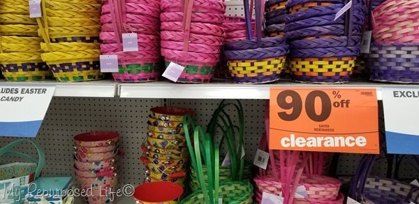 clearance Easter Baskets at Meijer