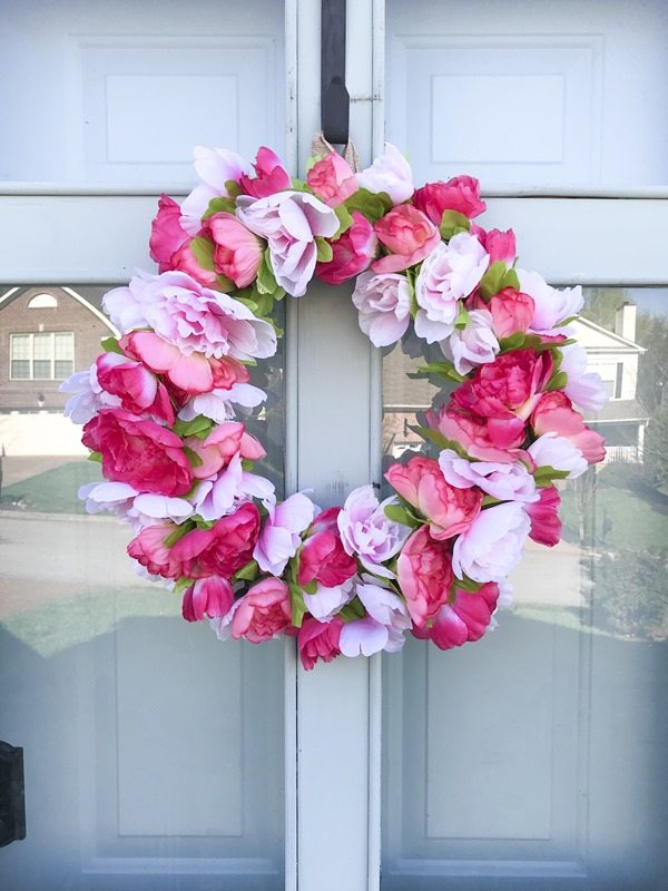 easy-diy-pink-peony-wreath