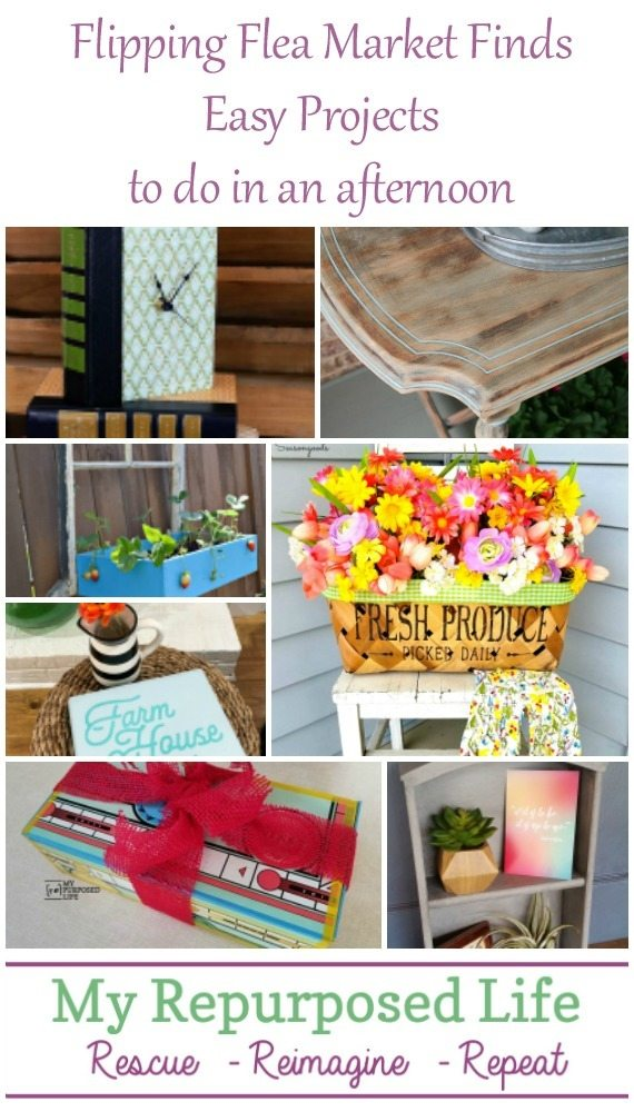 flipping flea market finds easy projects to do in an afternoon MyRepurposedLife.com