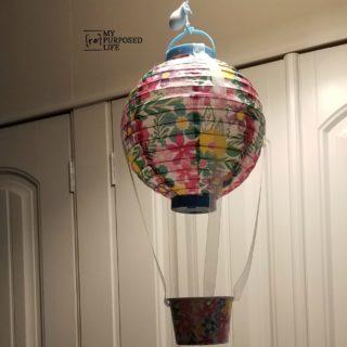 Chinese Lantern Hot Air Balloon