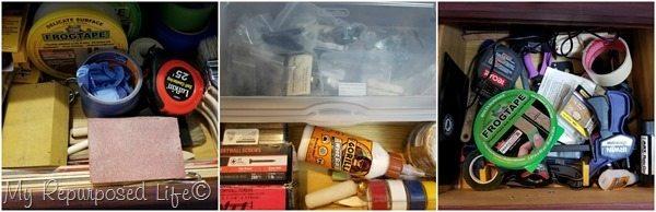 neat diy junk drawers