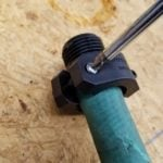 How to repair a garden hose