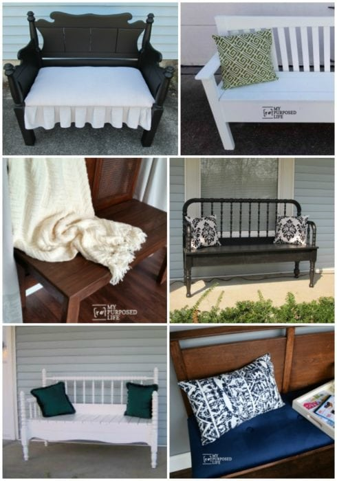 headboard bench projects