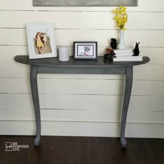 Reclaimed Coffee Table Repurposed Hall Table
