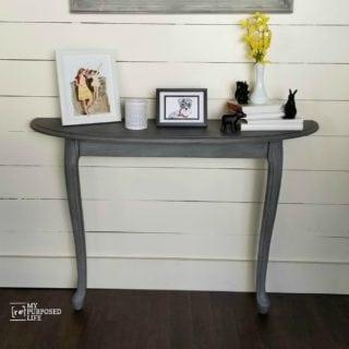Reclaimed Coffee Table Repurposed Hall Table