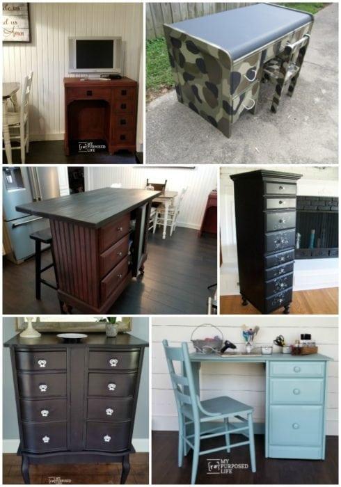 new uses for old desks