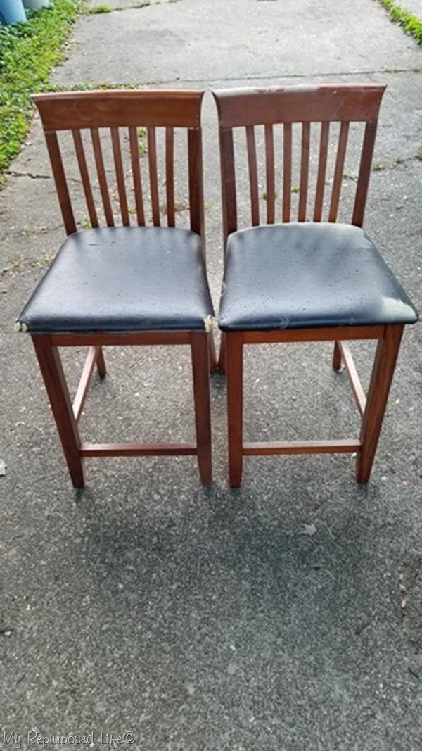 free set of bar stools