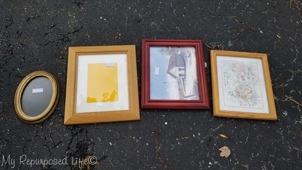 random picture frames