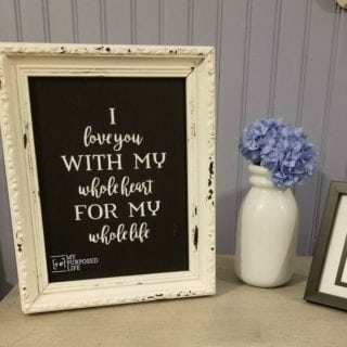 Chippy Chalkboards with Chalk Art