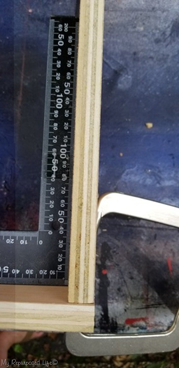 attach fire box pieces with pocket hole screws