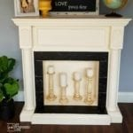 Faux Fireplace Mantel Makeover eBook