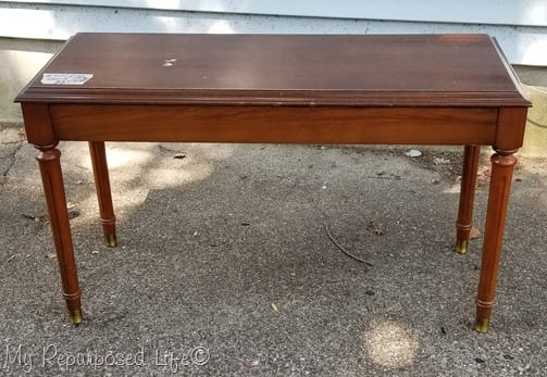 piano bench redo