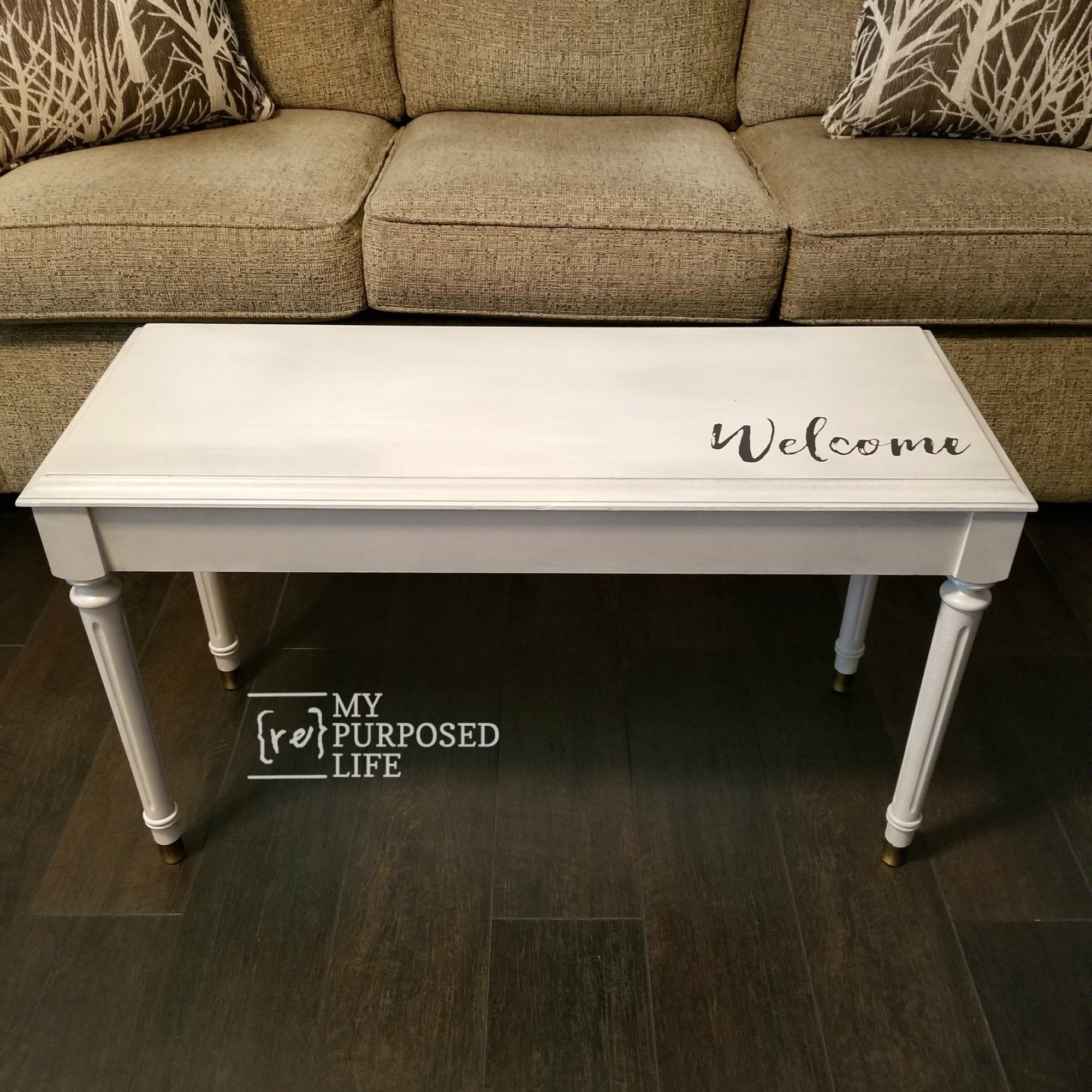 17 Best Images About Repurposed Furniture On Pinterest: Piano Bench Redo With Paint And Glaze