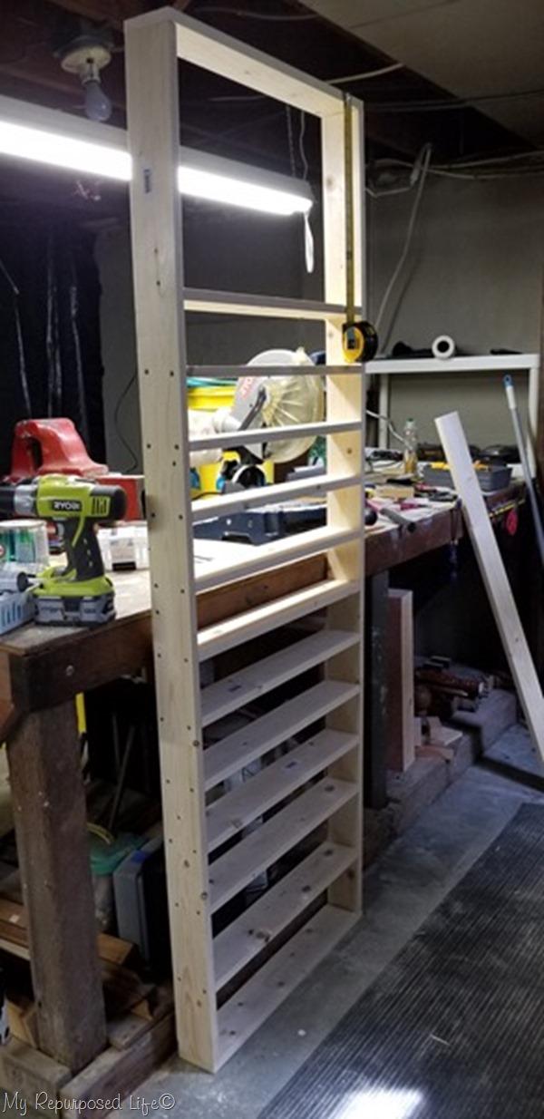 turn shelf upsdide down