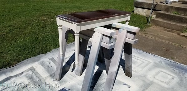 use sawhorses for painting