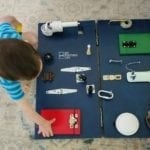 DIY Toddler Busy Board