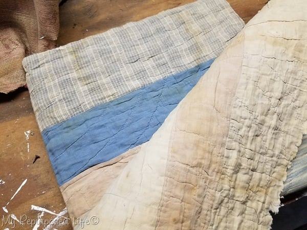quilt used as batting
