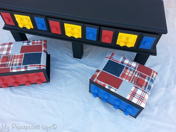 repurposed furniture for kids old dresser into lego table