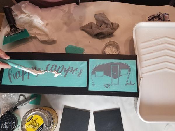 chalk couture happy camper transfer
