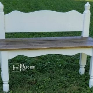Twin Bed Bench Easy Headboard Bench Tutorial