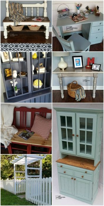 Homeright Paint Sprayer projects from My Repurposed Life