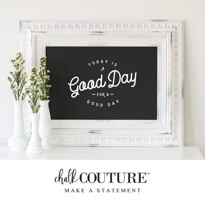 Chalk Couture Chalkboard
