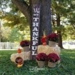 Large Thankful Sign for your Porch
