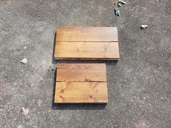2x4 planks for stepstool