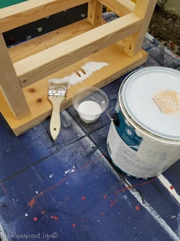 latex paint chip brush