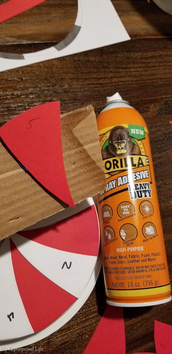 gorilla glue spray adhesive
