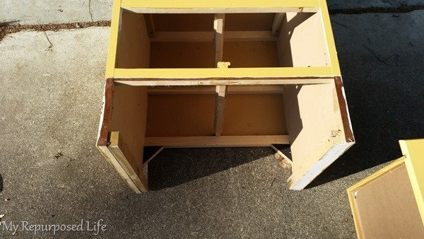 transform a pair of nightstands vertical storage