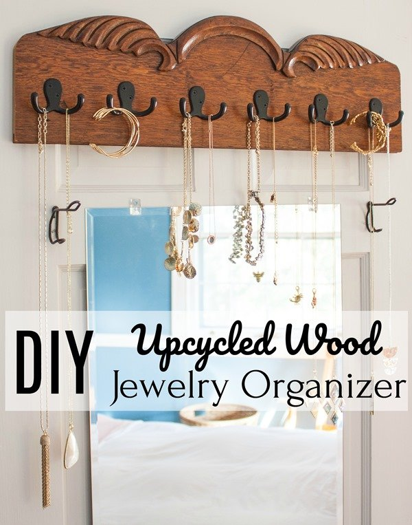 DIY-Upcycled-Wood-Jewelry-Organizer