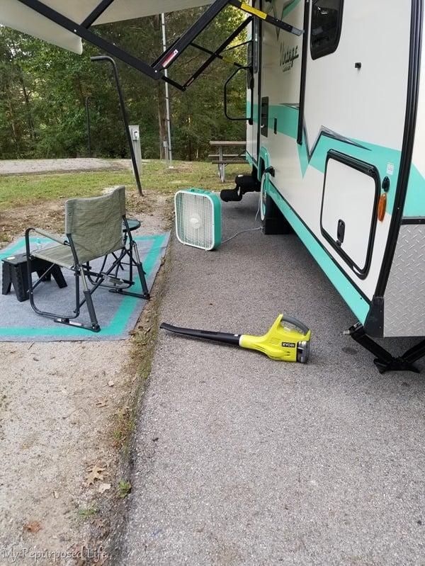 leaf blower for camper