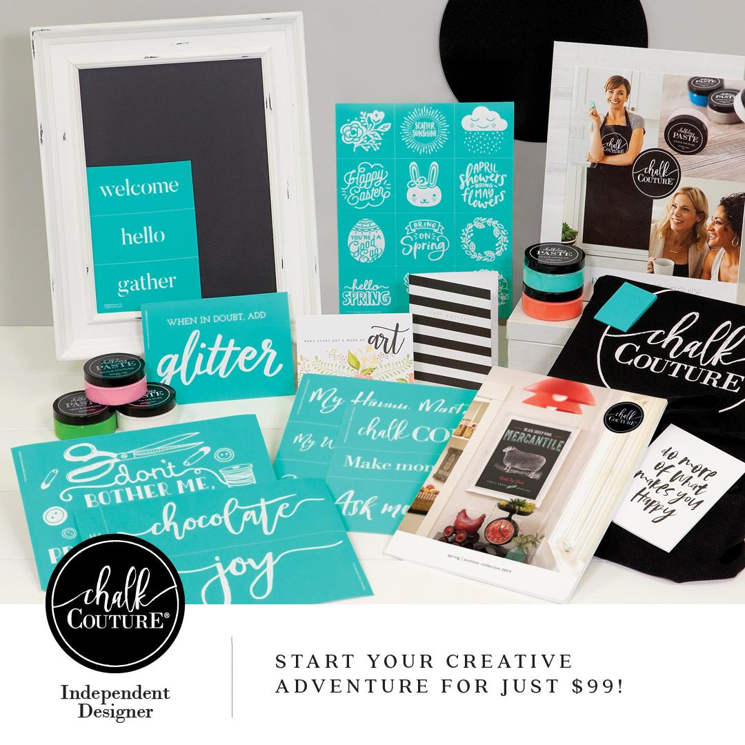Chalk Couture Starter Kit 2019