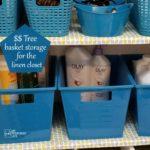 Linen Closet Organization | Dollar Tree