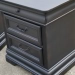 Vintage Black Nightstands to match Passages bed