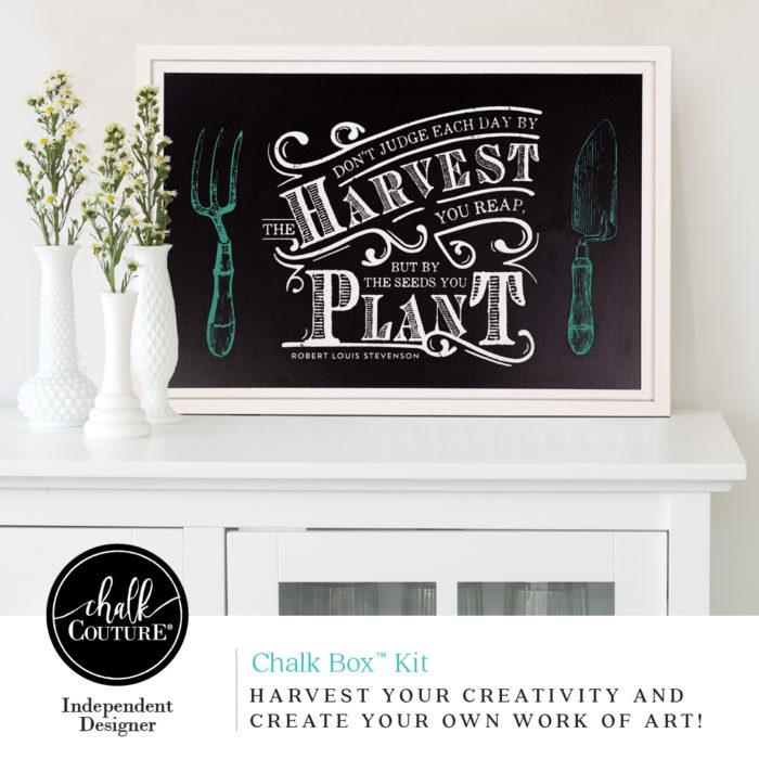 chalk box kit harvest