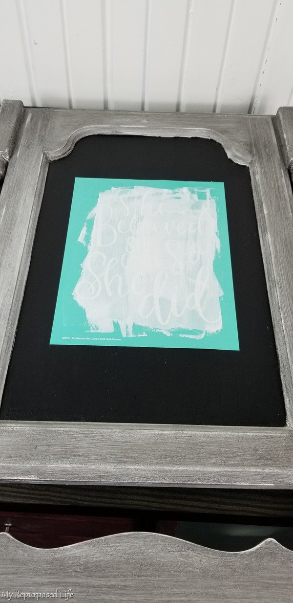 chalk couture transfer