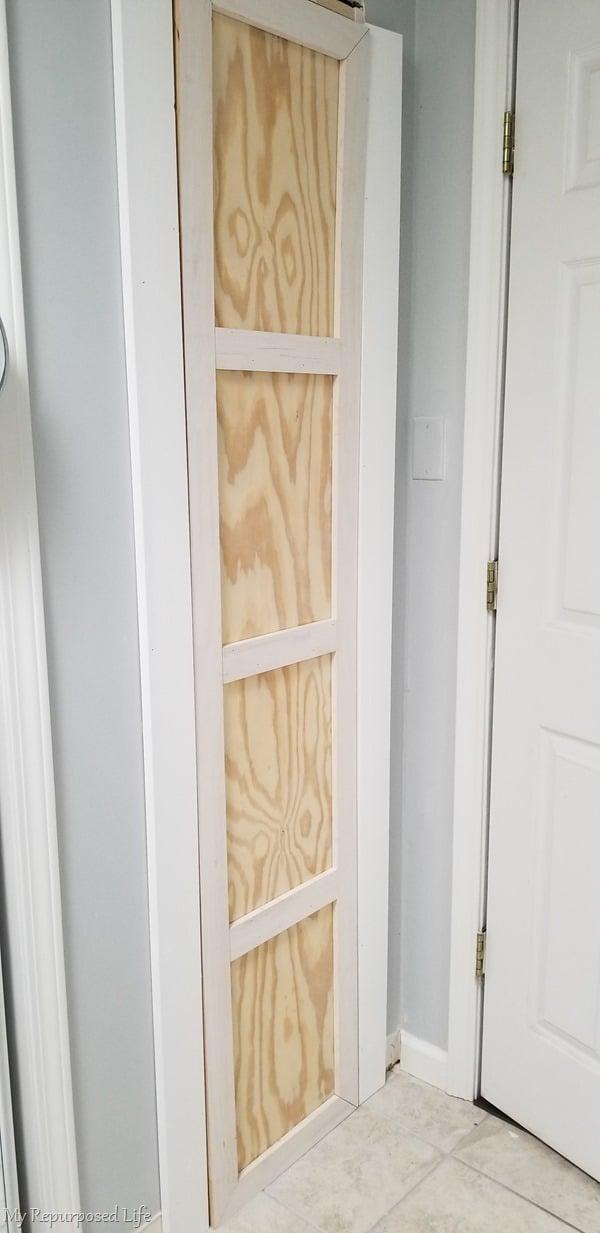 dry fit of closet door