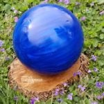 DIY Gazing Ball out of a Bowling Ball