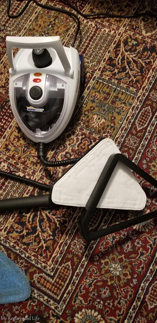steam machine carpet glide accessory