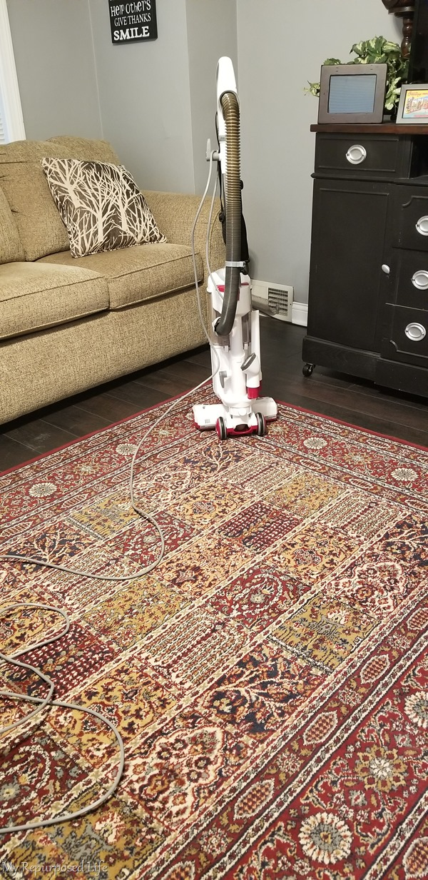 vaccuum carpet