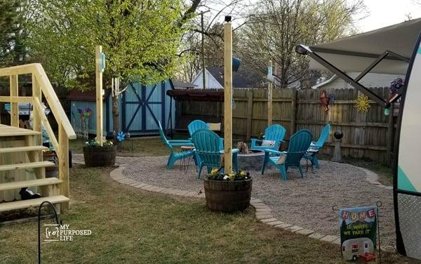 camper retreat in my own backyard MyRepurposedLife