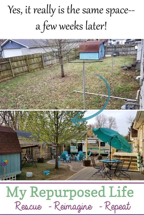 cozy backyard camper retreat guest space MyRepurposedLife